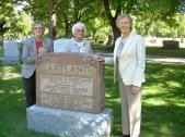 Eastland grave marker