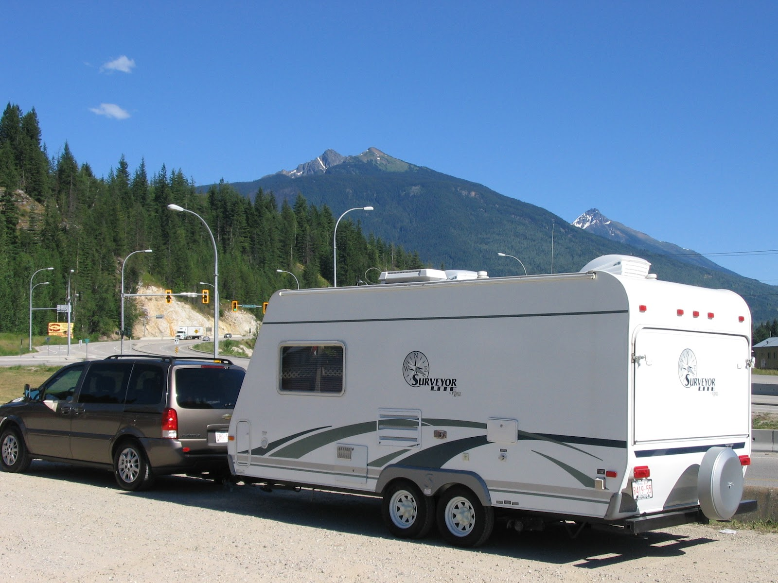 Towing A Travel Trailer With A Mini