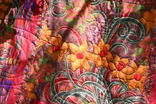 Quilting is not for the faint of heart