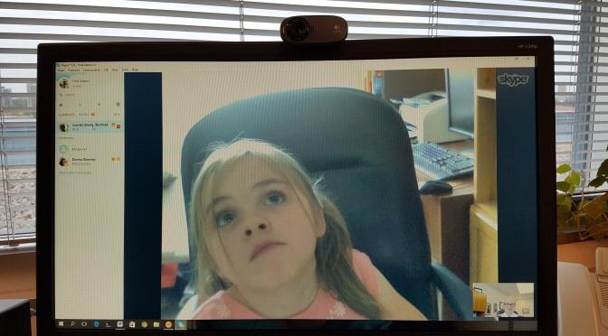 Our Skype princess