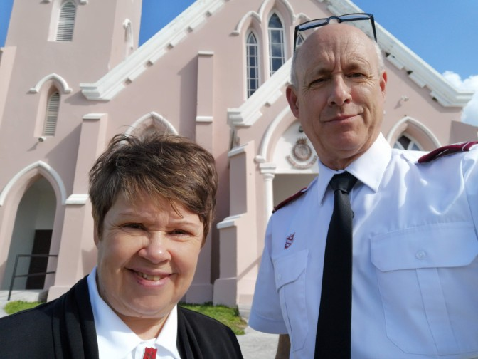 Bermuda and The Salvation Army